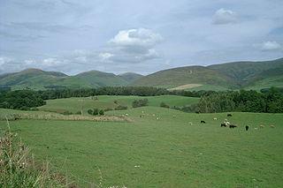 Southern Uplands region in Scotland