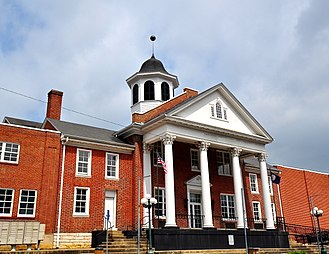 Scott County, Virginia - Image: Scott County Courthouse, Gate City, Virginia