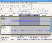 Screenshot of Audacity on Linux - Audacity on SourceForge.png