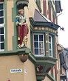 Sculpture at Niederstrasse's corner.jpg
