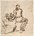 Seated Figure Receiving an Object Presented by a Smaller Figure MET DP809906.jpg