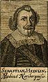 Sebastian Heinlin. Line engraving, 1688. Wellcome V0002656.jpg