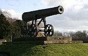 Sebastopol cannon Huntingdon uk