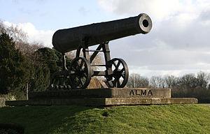 Huntingdon - Sebastopol Cannon Huntingdon
