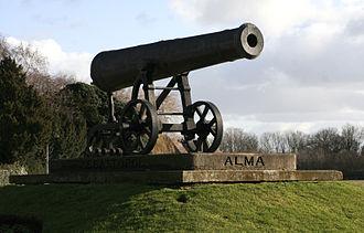 Huntingdon - Sebastopol cannon