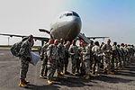 Second flight of JFC-UA service members redeploy 150106-A-YF937-901.jpg