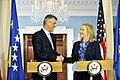Secretary Clinton Meets With Kosovan Prime Minister Thaci (7046272723).jpg