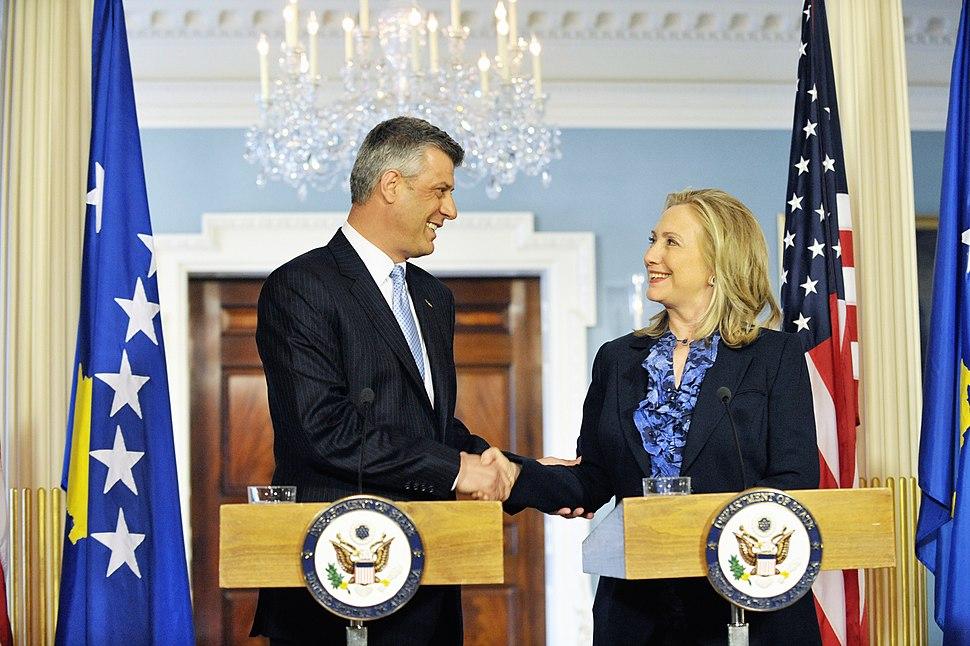 Secretary Clinton Meets With Kosovan Prime Minister Thaci (7046272723)