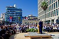 Secretary Kerry Delivers Remarks at the Flag-Raising Ceremony at the Newly Re-Opened U.S. Embassy in Havana (20580326481).jpg