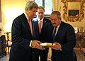 Secretary Kerry Presents a Gift to Jordanian Foreign Minister Judeh.jpg