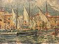Segelboote im Hafen von Malcesine (1960) WV1698.jpg