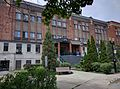 Seniorss residence at 4400 West Hill, Montreal, formerly West Hill and Monklands High School, July 2016.jpg