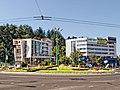 Sens giratoriu la Spitalul Judetean Brasov - panoramio.jpg