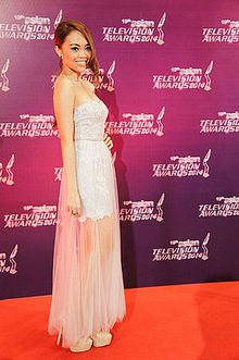 Serene Koong 龚芝怡 at AsianTelevisionAwards2014
