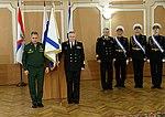 Sergey Shoigu and Vladimir Korolev (2016-04-18) 1.jpg