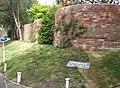 Serpentine Wall, Roxbury House, Milford on Sea - geograph.org.uk - 412724.jpg