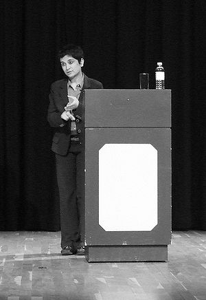 Shami Chakrabarti at Humber Mouth on 28 June 2007