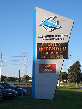 Sharkies Leagues Club Sharkies Leagues Club Sign.JPG