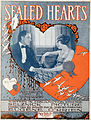 Sheet music cover - SEALED HEARTS (1919).jpg