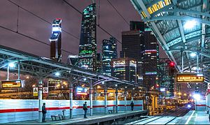 Shelepikha (Moscow Central Circle) - Image: Shelepiha platform