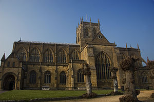 History of Dorset - During the Middle Ages monasteries like Sherborne Abbey  were the biggest power in Dorset