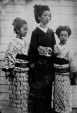 Shimazu Nariakira - Shimazu Nariakira's three daughters