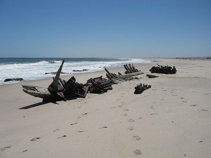 Costa dos Esqueletos Namíbia