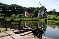Shipyard and windmill at Netherlands Open Air Museum Arnhem - panoramio.jpg