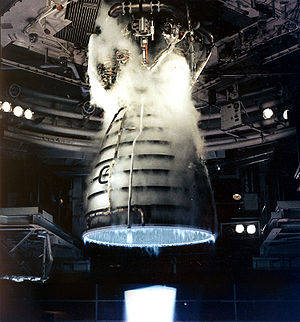 Hydrogen - Image: Shuttle Main Engine Test Firing cropped edited and reduced