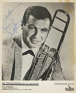 Si Zentner American jazzband leader
