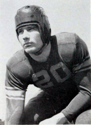 Sid Tinsley - Tinsley at Clemson in 1941