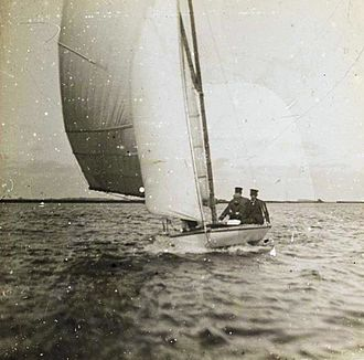 Sailing at the 1900 Summer Olympics - Image: Sidi Fekkar Fries Scheepvaartmuseum 1910