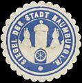 Siegelmarke Siegel der Stadt Naumburg in Hessen W0393846.jpg