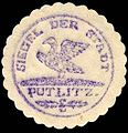 Siegelmarke Siegel der Stadt Putlitz W0229247.jpg