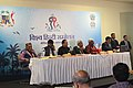 Sir Anerood Jugnauth in a conference at 11th WHC Mauritius 001.jpg