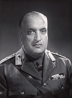 Indo-Pakistani War of 1947 - Maharaja Hari Singh of Jammu and Kashmir