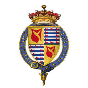 John Hastings, 2nd Earl of Pembroke - Coat of arms of Sir John Hastings, 2nd Earl of Pembroke, KG
