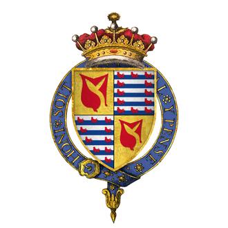 Hundred Years' War (1369–89) - Image: Sir John Hastings, 2nd Earl of Pembroke, KG