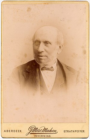 John Struthers (anatomist) - A formal portrait, Aberdeen, October 1890