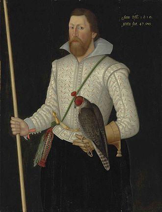 Sir Thomas Monson, 1st Baronet - Sir Thomas Monson aged 47, 1610, by an unknown English artist.
