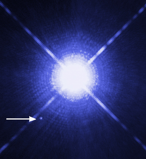 White dwarf Type of stellar remnant composed mostly of electron-degenerate matter