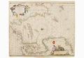 Sjökort-Sjökort över Nordsjön. Kortet är orienterat med väster uppåt - Sjöhistoriska museet - 2007-006-3.tif