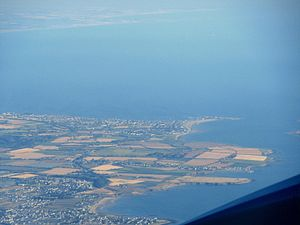 Skerries from above.