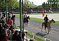Slavnostni mimohod konjeniških praporov na Festivalu konjenikov 2010.jpg