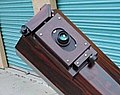 """Sled Focuser on a all-plywood 10-inch f4 Newtonian Dobsonian """"Dob Buster"""" Telescope.jpg"""