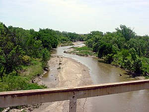 Smoky Hill River - Smoky Hill River near Assaria, Kansas