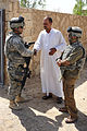 Soldiers meet with Sons of Iraq leader DVIDS206213.jpg