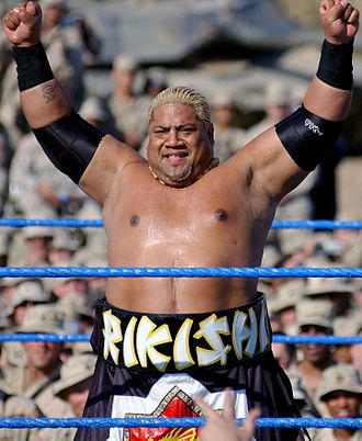 Rikishi (wrestler) - Rikishi at Tribute to the Troops in 2003