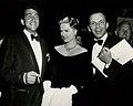 Some Came Running film premiere (1958-12-18) - Martin, Hyer, Sinatra publicity photo.jpg