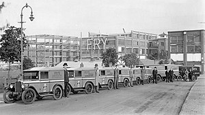 J. S. Fry & Sons - Somerdale Factory soon after opening